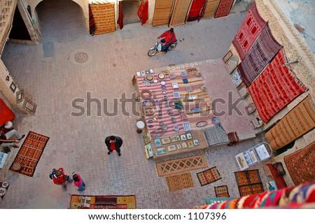 Oriental Bazaar - Gabes - stock photo