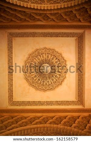 Oriental decoration - stock photo