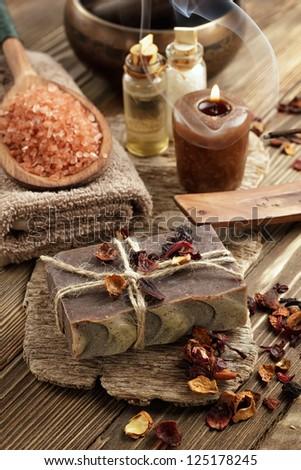 Oriental spa - stock photo
