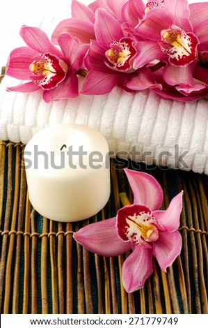 Oriental spa and wellness - stock photo