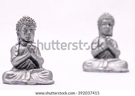 Oriental Statue - stock photo