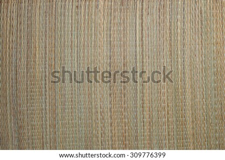Oriental straw mat. Textures and backgrounds - stock photo