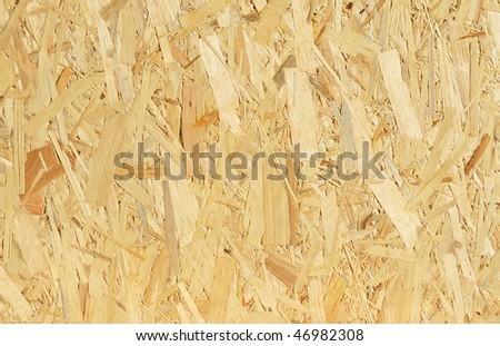 oriented strand board - stock photo