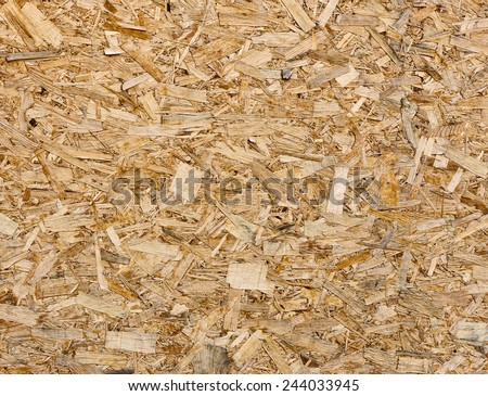 Oriented strand board (OSB, sterling board) texture - stock photo