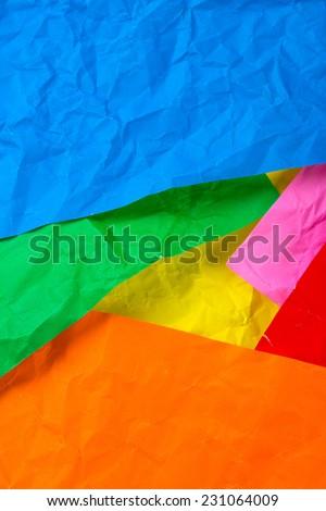 Origami paper texture - stock photo