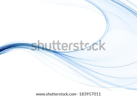 original abstract blue background - stock photo