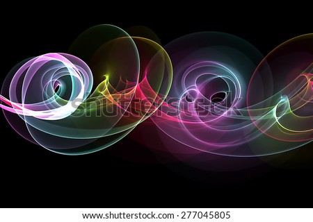 original abstract colorful background - stock photo