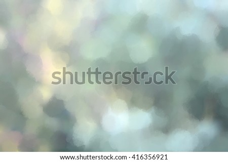 Original Digitally hand painted sponge effects background in natural colors. - stock photo