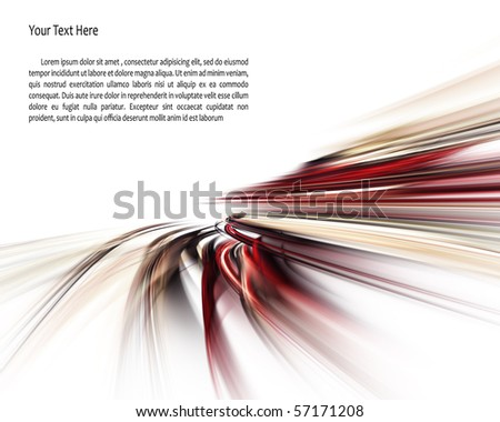 Original fractal background element - stock photo