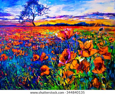 Beautiful oil paintings of nature for Beautiful canvas painting