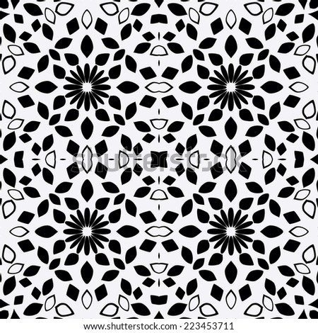 Original seamless pattern, raster graphics.
