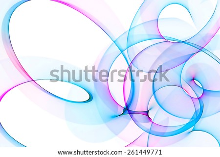 original unusual abstract colorful background - stock photo