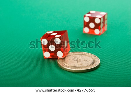 original vegas dice with casino coin