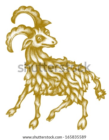 Original zodiac symbol of aries