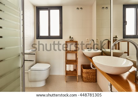 Orihuela, Spain- June 18, 2016: Apartments and villas for tourists near the sea in Spain in the region Orihuela.