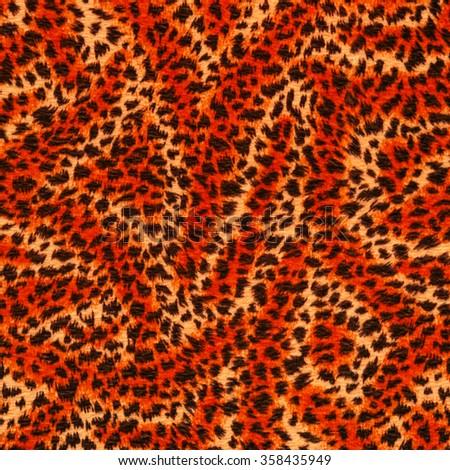 oringe fur texture - stock photo
