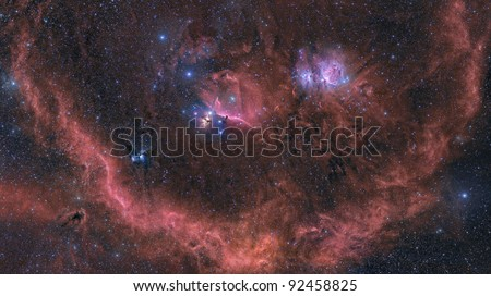 Orion Wide Field Mosaic