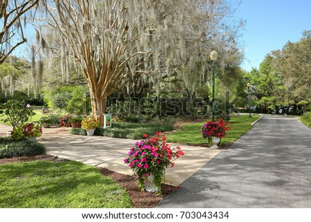 ORLANDO, FL   FEBRUARY 25: Harry P. Leu Botanical Gardens A Destination  Garden