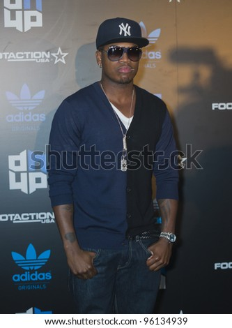 ORLANDO, FLORIDA - FEB. 24: R&B singer Ne-Yo attends the VIP All-Star party hosted by Dwight Howard and Adidas.  Feb. 24, 2012 in Orlando Florida.