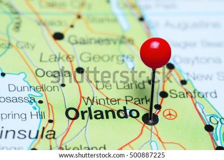 Florida Map Stock Images RoyaltyFree Images Vectors Shutterstock - Usa map florida