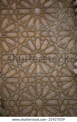 ornament detail - stock photo
