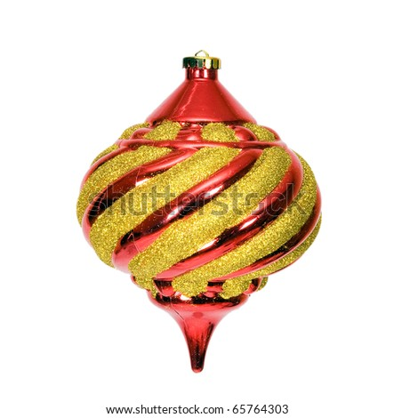 Ornament for a New Year tree (Sphere) - stock photo