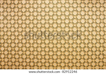 ornament in the Turkish Mosque - stock photo