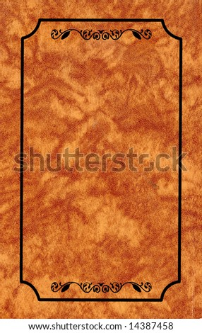 ornament on abstract background