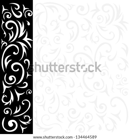 ornamental background - stock photo