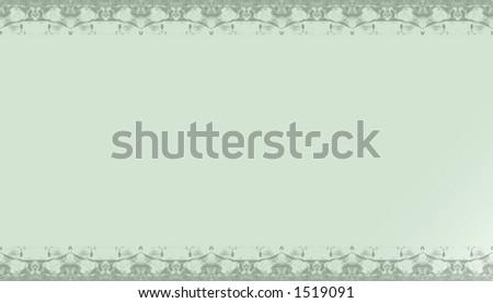 ornamental border - stock photo