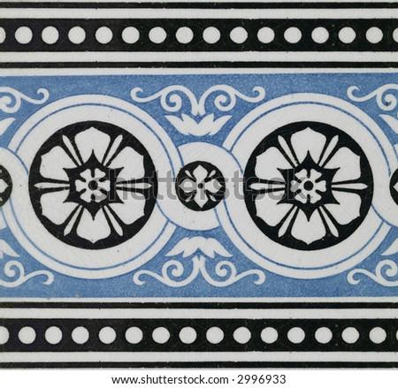 ornamental ceramic - stock photo
