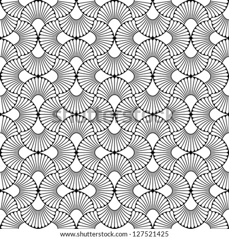 Ornamental seamless pattern. Abstract background. - stock photo