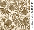ornamental vintage  pattern - stock