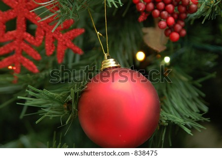 ornaments - stock photo