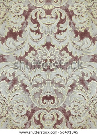 ornate decorative background. More of this motif & more backgrounds in my port. - stock photo