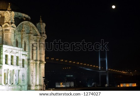 ortakoy - istanbul - stock photo