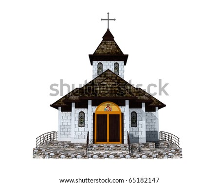 Orthodox Church . 3d Model