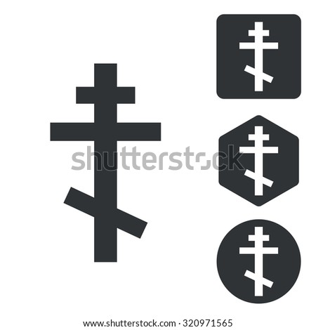 Orthodox cross set. Orthodox cross set art. Orthodox cross set web. Orthodox cross set new. Orthodox cross set www. Orthodox cross set app. Orthodox cross set big. Orthodox cross set ui - stock photo