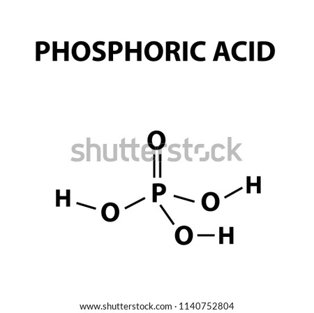 Orthophosphoric Acid Chemical Formula Phosphoric Acid Stock