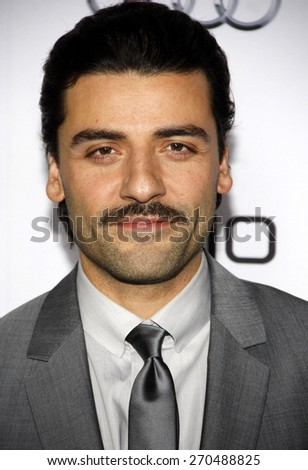 Oscar Isaac at the AFI FEST 2014 Opening Night Gala Premiere of 'A Most Violent Year' held at the Dolby Theatre in Los Angeles on November 6, 2014 in Los Angeles, California. - stock photo