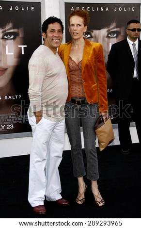 """Oscar Nunez at the Los Angeles premiere of 'Salt"""" held at the Grauman's Chinese Theatre in Hollywood on July 19, 2010. - stock photo"""