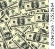 ot's of $100 banknotes. Can be used as a background for your projects. - stock photo