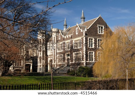 Otago University - stock photo