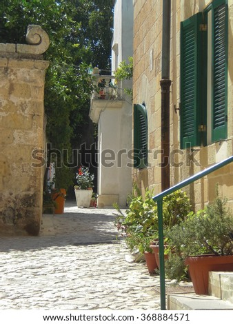 OTRANTO, ITALY - CIRCA JUNE 2008: View of the city of Otranto in Apulia