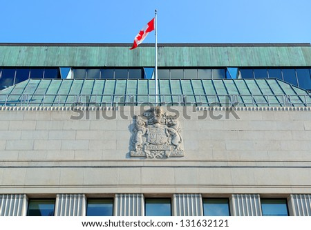 OTTAWA, CANADA - SEP 8: The Royal Bank of Canada on street on ...