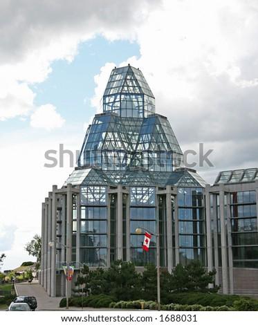 Ottawa fine arts museum - stock photo