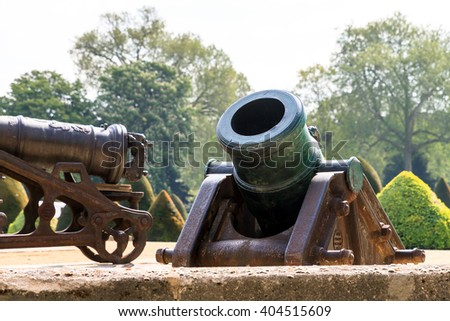 Ottoman Howitzer at Les Invalides in Paris, France - stock photo