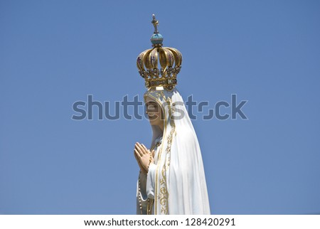 Our Lady of Fatima - stock photo