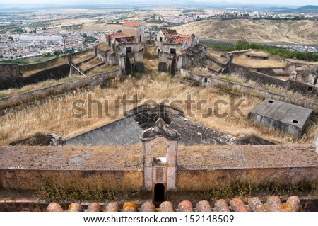 Our Lady of Grace Fort in Elvas (Portugal)