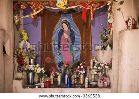 Our Lady of Guadalupe - stock photo